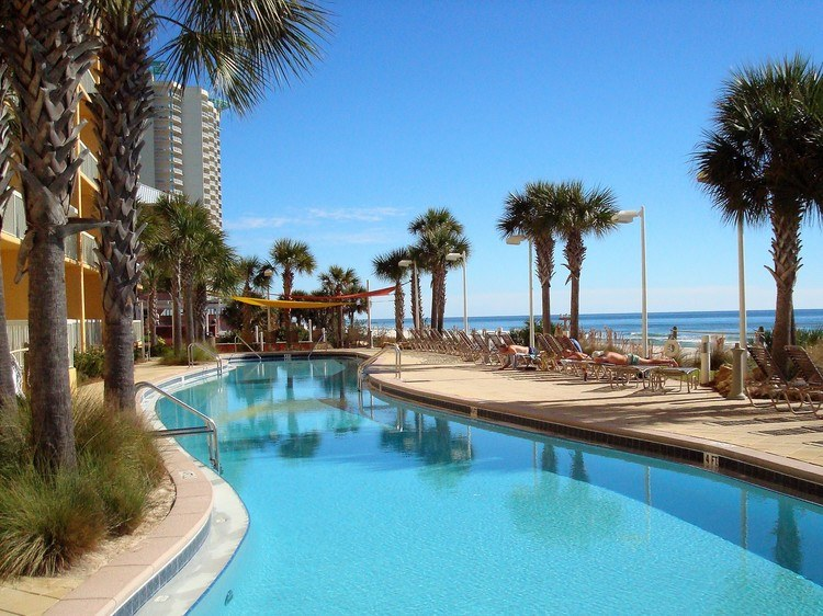 Calypso Resort 1206w Beach Front Condo Rental Near Pier