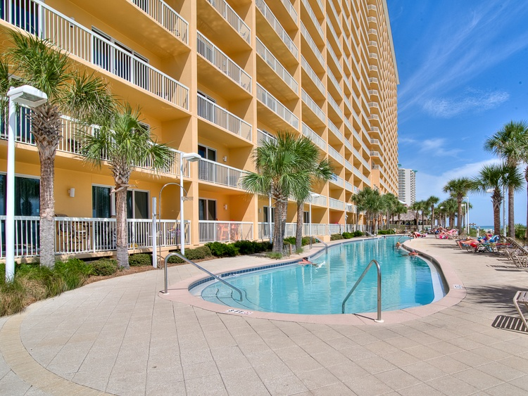 Calypso Resort 501e Beach Front Vacation Rental Near Pier